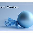 Merry Christmas - Bauble by Gillian Cross