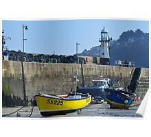 St Ives Harbour, Cornwall Poster