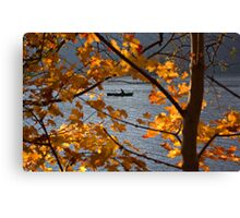 Row row row your boat. Canvas Print