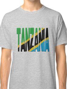 Tanzania flag Classic T-Shirt