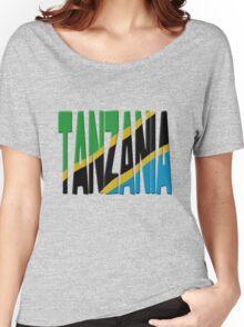 Tanzania flag Women's Relaxed Fit T-Shirt