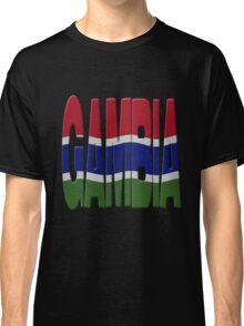 Gambian flag Classic T-Shirt