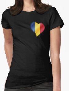 Romanian Flag - Romania - Heart T-Shirt