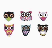 Cute Owl Kids Clothes