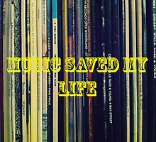 Music saved my life by AnnaAndretta