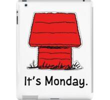 Snoopy Monday iPad Case/Skin