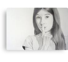 Our secret Canvas Print