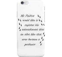Marauders Map Mr Padfoot  iPhone Case/Skin