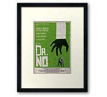 Green Dr No Framed Print