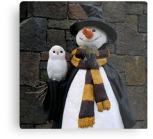 Christmas At Hogsmeade Metal Print