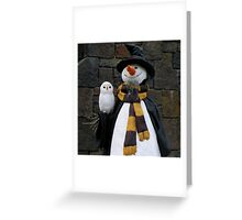 Christmas At Hogsmeade Greeting Card