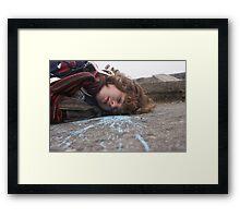 Splat!Dead! Framed Print