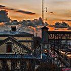 """""""Express Into The Sunset"""" - by Jack McCabe by Jack McCabe"""