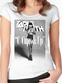C-Cups & Up! Women's Fitted Scoop T-Shirt