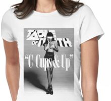 C-Cups & Up! Womens Fitted T-Shirt
