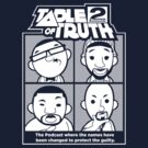 The Table of Truth Faces Logo Tee by thetableoftruth