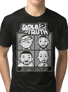 The Table of Truth Faces Logo Tee Tri-blend T-Shirt