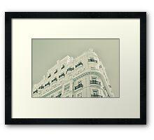 Madrid Framed Print