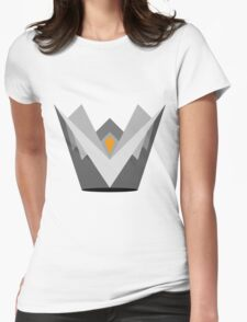 Fire Crown Womens Fitted T-Shirt