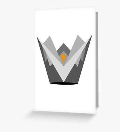 Fire Crown Greeting Card
