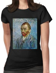 Gogh Away Womens Fitted T-Shirt