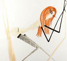Red Head 1 by nnelsonart