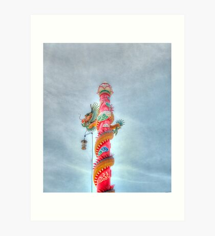 chinese decoration Art Print