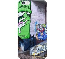 View of Street art on Nelson Street, Bristol iPhone Case/Skin