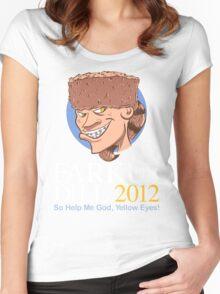 Farkus for President Women's Fitted Scoop T-Shirt
