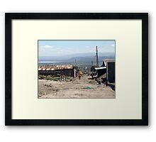 Giotto Dump Site - Nakuru Framed Print