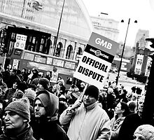 Liverpool Protesters - Making a Stand. by AndrewBerry