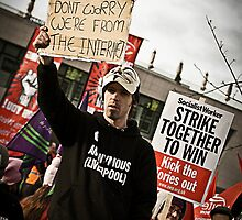 Liverpool Protesters - We Are From The Internet by AndrewBerry