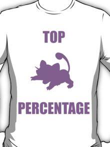 Ratatta: TOP PERCENTAGE (Purple) T-Shirt