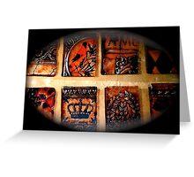 Planet De Los Muertos Greeting Card