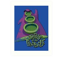 Day of the Tentacle (Distressed) Art Print