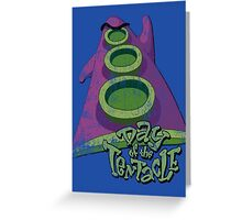 Day of the Tentacle (Distressed) Greeting Card