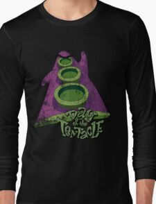 Day of the Tentacle (Distressed) Long Sleeve T-Shirt
