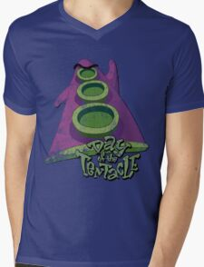 Day of the Tentacle (Distressed) Mens V-Neck T-Shirt