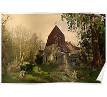 St Leonards Church, Hollington Poster