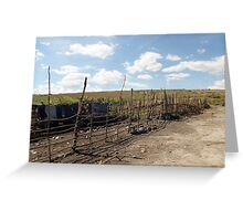 Giotto Dump Site 2.0 - Nakuru Greeting Card