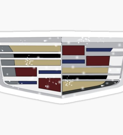 Cadillac - Damaged Sticker