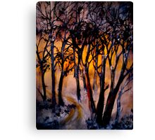 Deep Solitudes Canvas Print