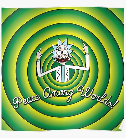 Peace among worlds, Folks! Poster