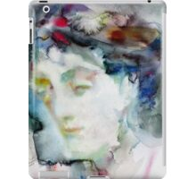 VIRGINIA WOOLF - watercolor portrait.3 iPad Case/Skin