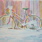 Abandoned Girlie Bike by Jeanne Allgood