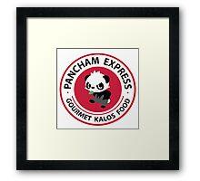 Pancham Express Framed Print