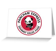 Pancham Express Greeting Card