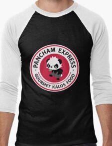 Pancham Express Men's Baseball ¾ T-Shirt