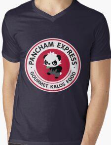Pancham Express Mens V-Neck T-Shirt
