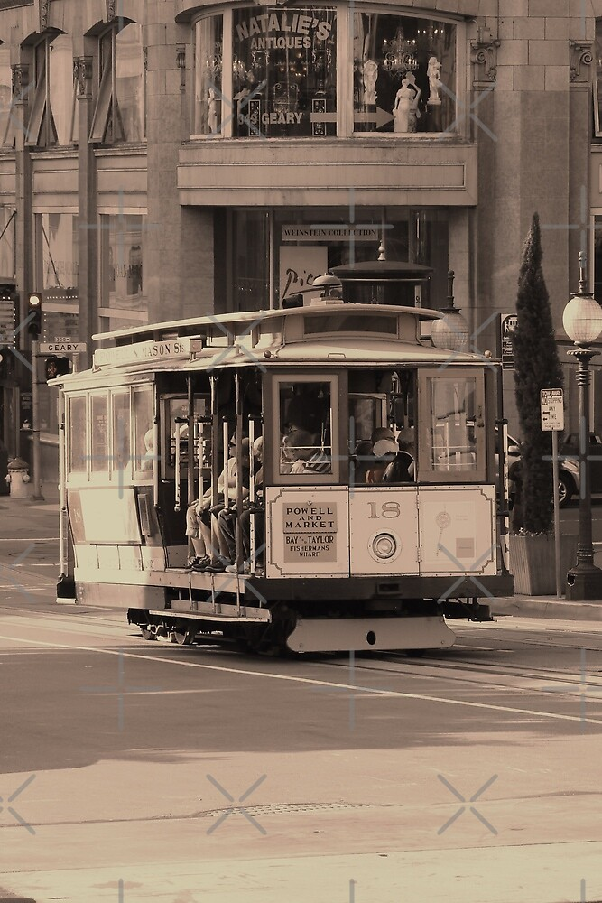 Cable Car  by Barrie Woodward